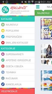 Reklamist screenshot