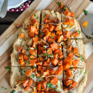 Roasted Butternut Squash Flatbread