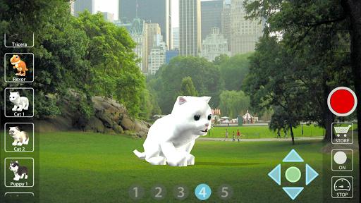 動物 カメラ 3D - AR Animal Cam