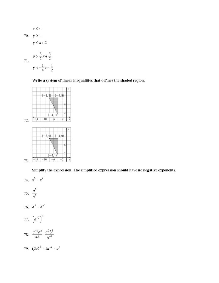Evaluating Expressions Multi Variables