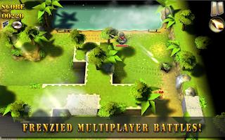 Screenshot of Tank Riders