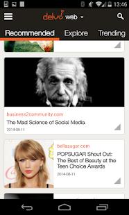 Delvv: Personalized News Feed - screenshot thumbnail