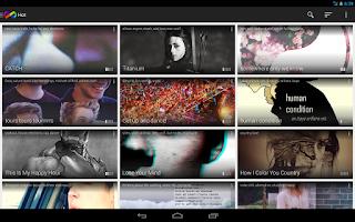 Screenshot of InfiniTracks