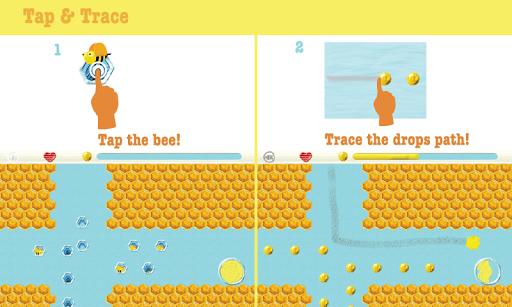 【免費娛樂App】Tap the Bee:Tracing game Free-APP點子
