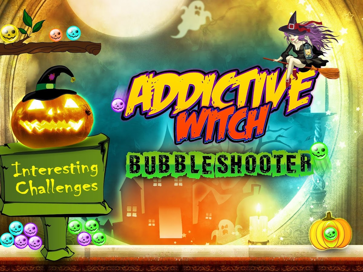 addictive witch bubble shooter android apps on google play