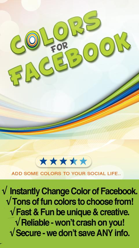 Color Themes for Facebook FREE - screenshot