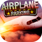 Airplane parking - 3D airport icon