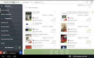 Screenshot of Mantano Ebook Reader Free