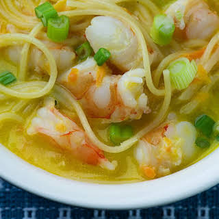 Coconut Shrimp Soup.
