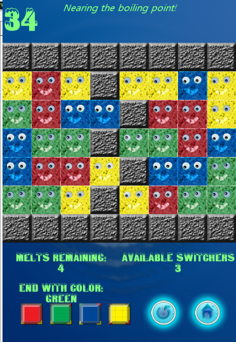 Meltinge! (Brain Game) - screenshot
