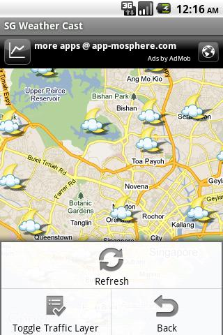SG Weather Cast- screenshot