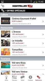 Montpellier Live - screenshot thumbnail