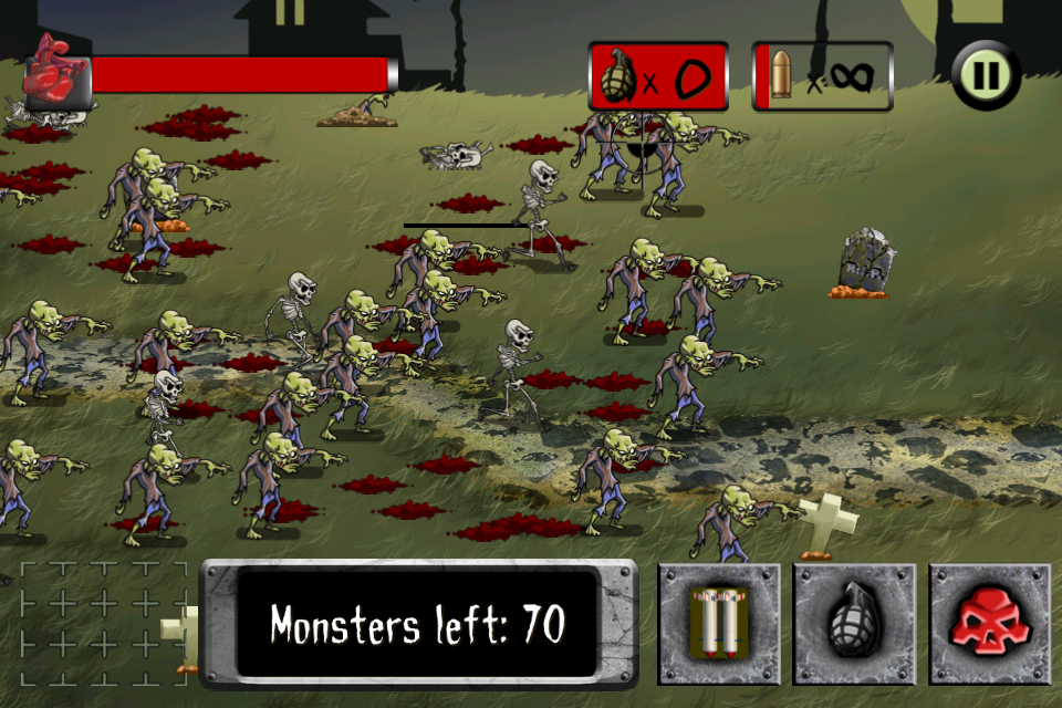 ApocaMonster: Zombies & Demons - screenshot