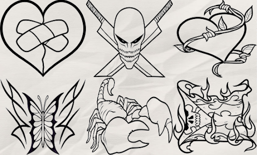How to Draw Tattoo- screenshot thumbnail