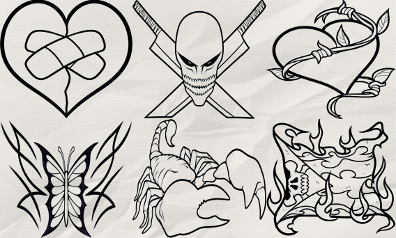 How to Draw Tattoo- screenshot