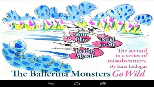 Go Wild - Ballerina Monsters
