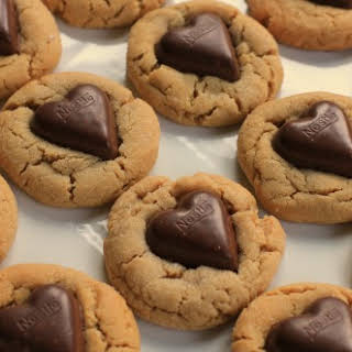 Valentine's Day Recipe – Chocolate Heart Peanut Butter Cookies.