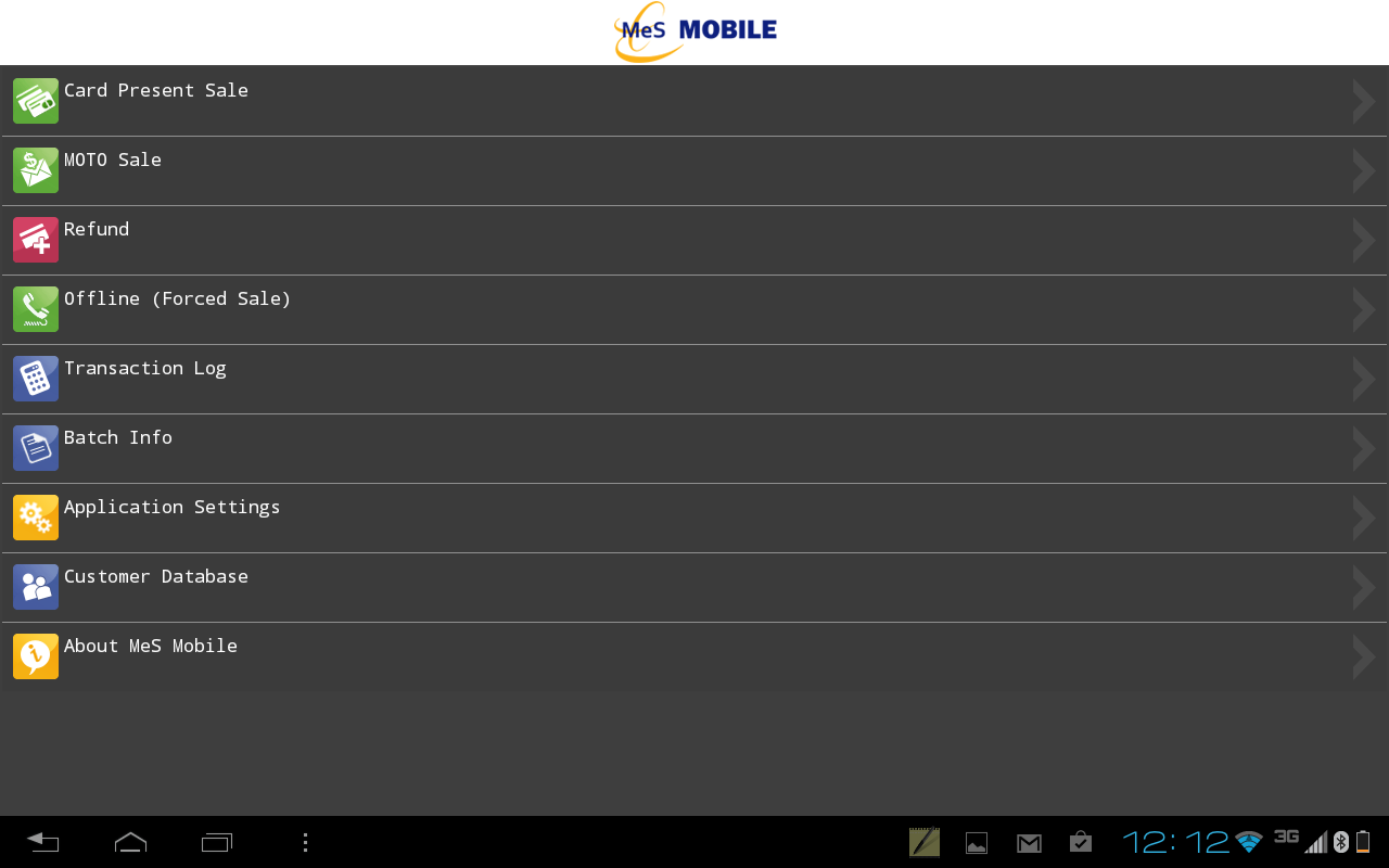 MeS Mobile - screenshot