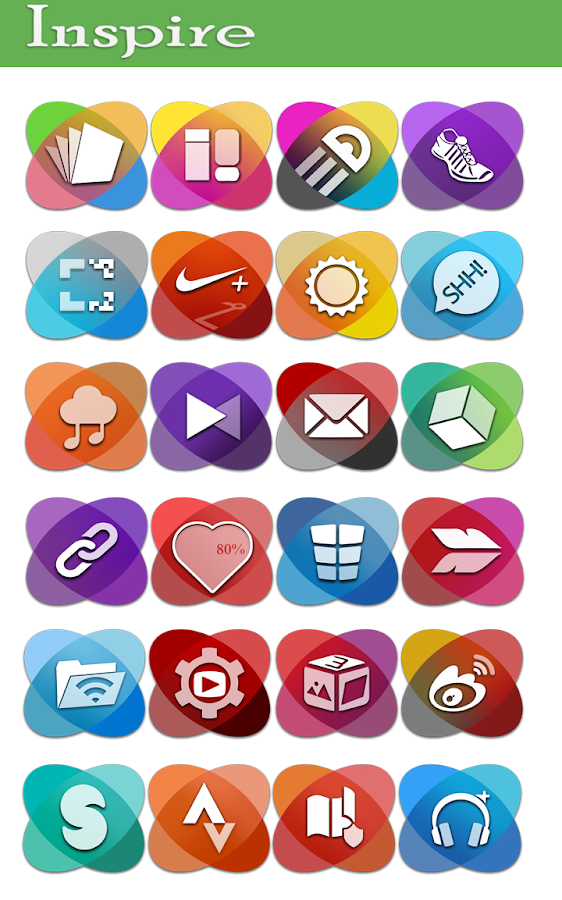 Inspire - Icon pack- screenshot