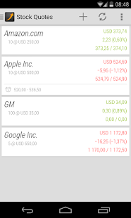 Stock Quotes- screenshot thumbnail