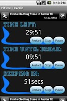 Screenshot of FiTime Exercise Counter Free