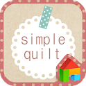 Simple quilt dodol theme icon