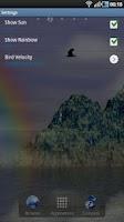Screenshot of Beautiful Mountains FREE LWP