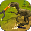 Raptor Dinosaur Simulator 3D icon