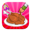 Food Coloring Games icon