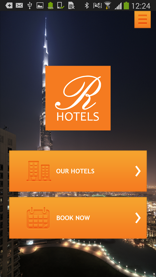 Rhotels- screenshot