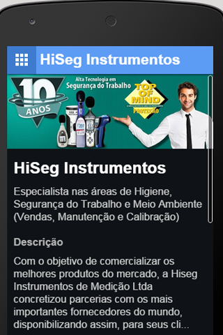 HiSeg Instrumentos