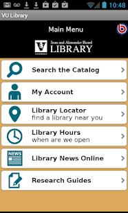 VU Library- screenshot thumbnail