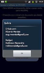 Gerar e Validar CNPJ / CPF- screenshot thumbnail