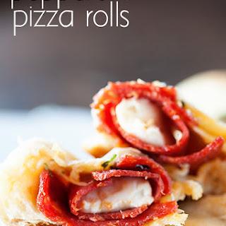 Homemade Pepperoni Pizza Rolls