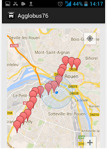 Rouen Bus TCAR Pro screenshot 3