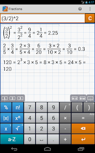 Fraction Calculator PRO/EDU - screenshot thumbnail