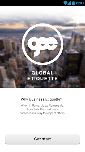【免費商業App】Global Business Etiquette-APP點子