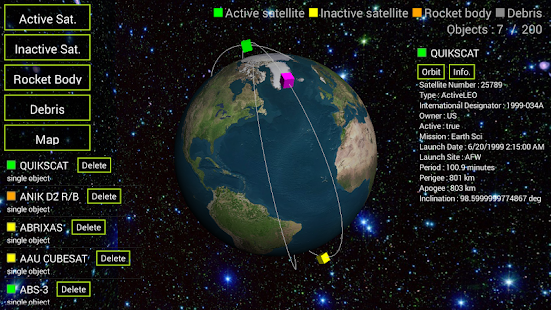 Satellite 3D - screenshot thumbnail