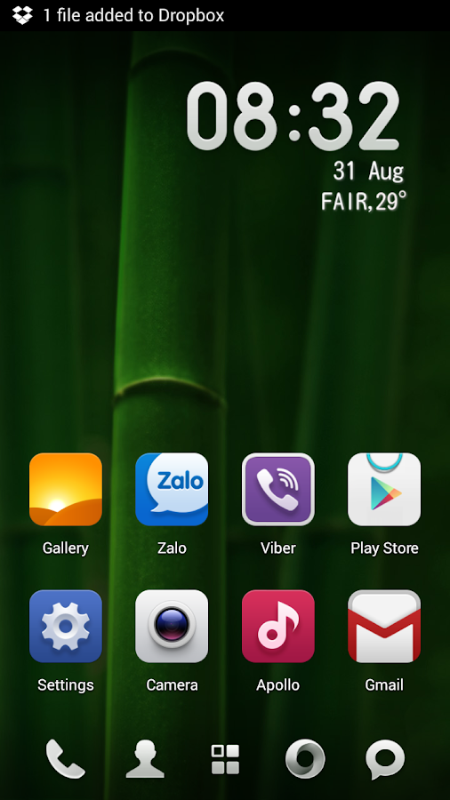 MIUI 5 - Launcher Theme - screenshot
