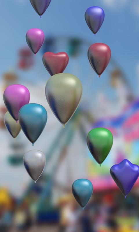 Baloons live wallpaper - screenshot