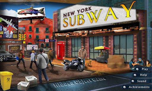 玩免費解謎APP|下載New York Subway Hidden Object app不用錢|硬是要APP