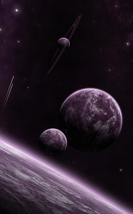 Space live wallpaper android apps on google play for Wallpapers 3d animados para android