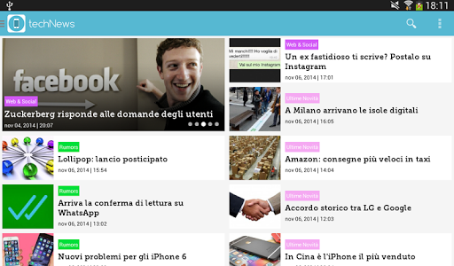 【免費新聞App】techNews-APP點子