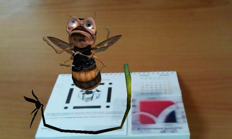 AngRy Bee- screenshot