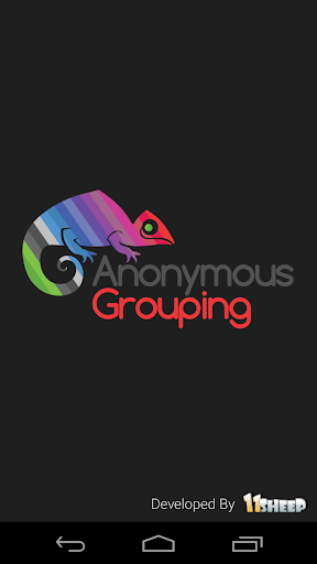 Anonymous Grouping