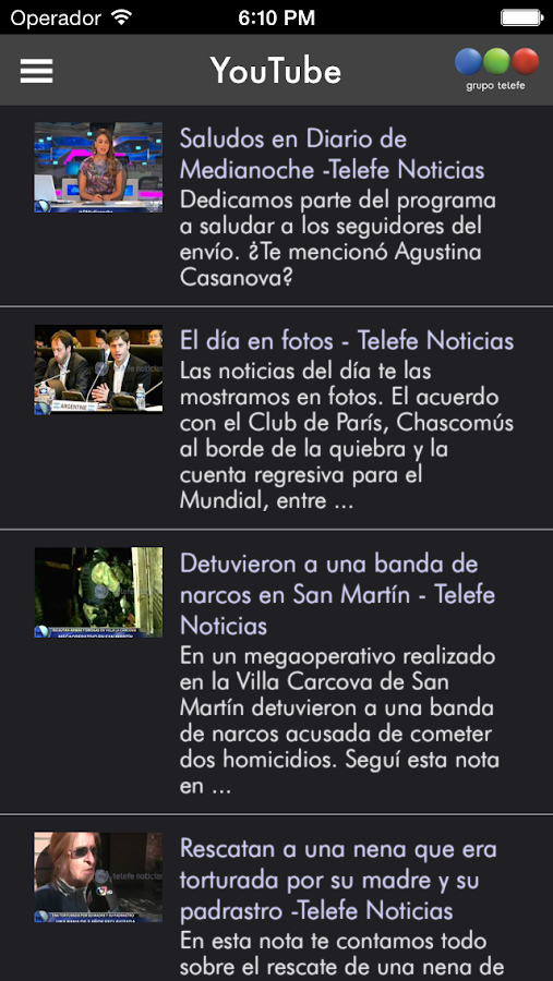 Telefe noticias android apps on google play for App noticias android
