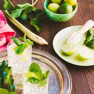 Lemongrass, Mint, Ginger And Kaffir Lime Syrup
