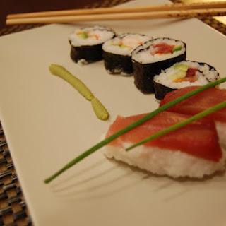 Sushi and Maki.