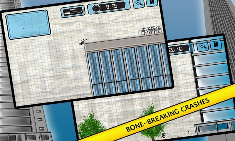 Stickman Base Jumper screenshot #5