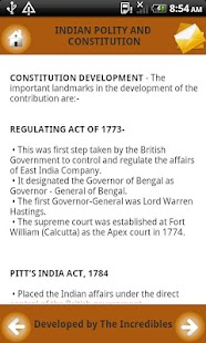 Notes on Constitution of India - screenshot thumbnail